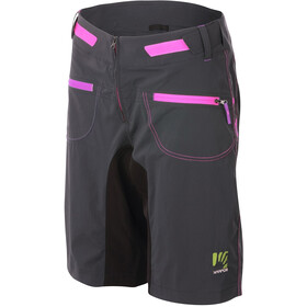 Karpos Ballistic Evo Shorts Women, grijs/zwart